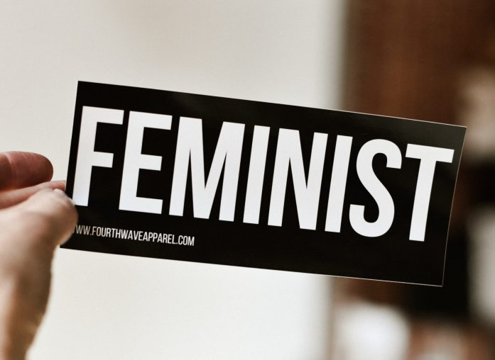 international Women's Day -- Feminist slogan- photo courtesy of Allie Smith on Unsplash