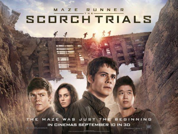 review novel film maze runner 2