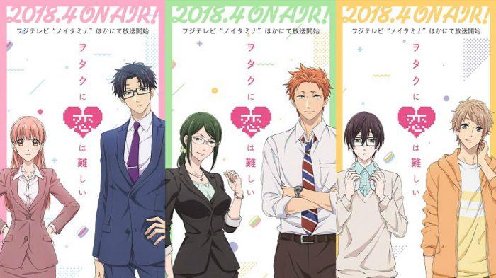 Review Anime Wotaku Ni Koi Wa Muzukashii Love Is Hard For