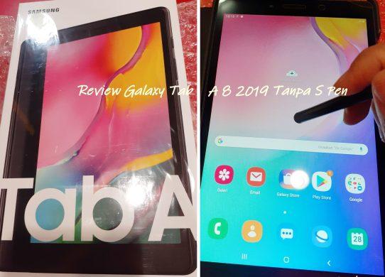tablet samsung galaxy A8 2019