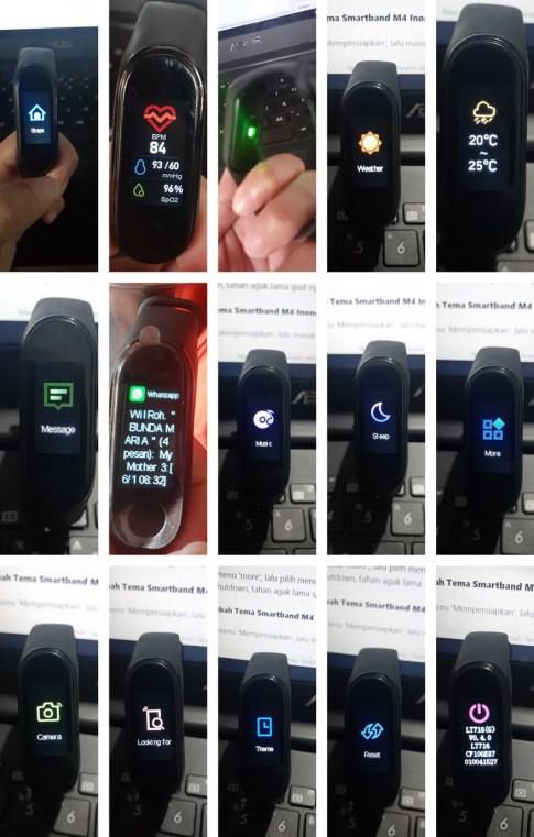 smartband m4 inone