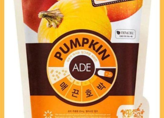 masker mediheal pumpkin