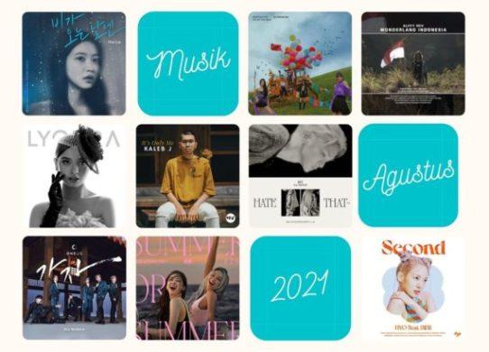 playlist lagu musik agustus 2021