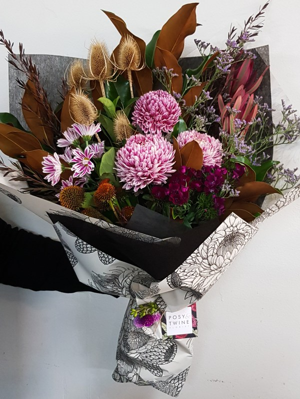 Dramatic bouquet of love Posy & Twine Florist