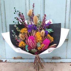 Modern dried flowers Posy & Twine Florist