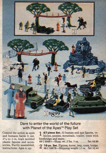 Planet Of The Apes Merchandise Advertisements