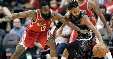James Harden, Houston Rockets vs San Antonio Spurs