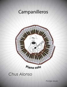 Campanilleros FRONT Cover 232x300 - Music for Piano