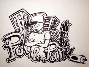 potandpanhandler.com graffiti
