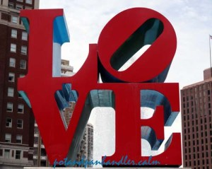 Love Sculpture Philadelphia Pennsylvani