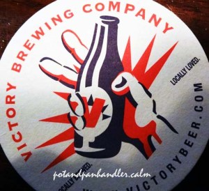 Victory Brewing Coaster @ Nomad Pizza Philadelphia, Pennsylvania