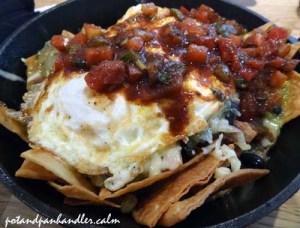 Huevos Rancheros at Philadelphia, Pennsylvania's Green Eggs Cafe