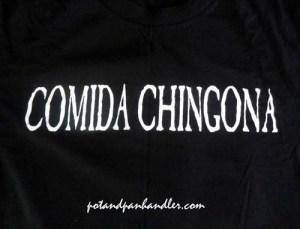 Barrio Cafe, Comida Chingona T-shirt, Phoenix, Arizona