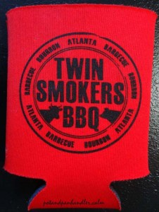 Twin Smokers Koozie