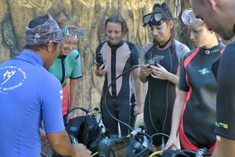 Kurzy potápìní v Tulambenu s èeským instruktorem