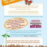 free potatoes for schools