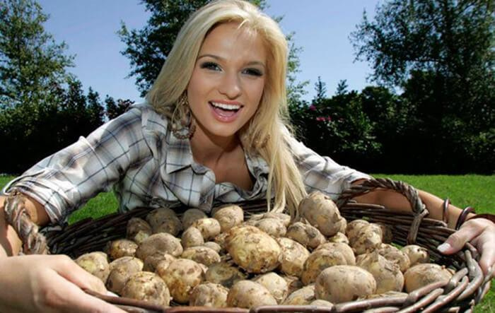 Irish potato girl