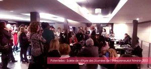 POTENTIELLES-CLOTURE JOURNEES ENTREPRENEURIAT FEMININ 2015