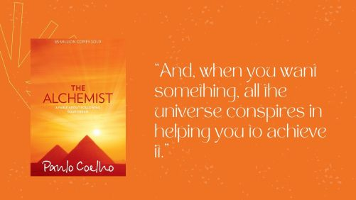 Screengrab of book cover and quote