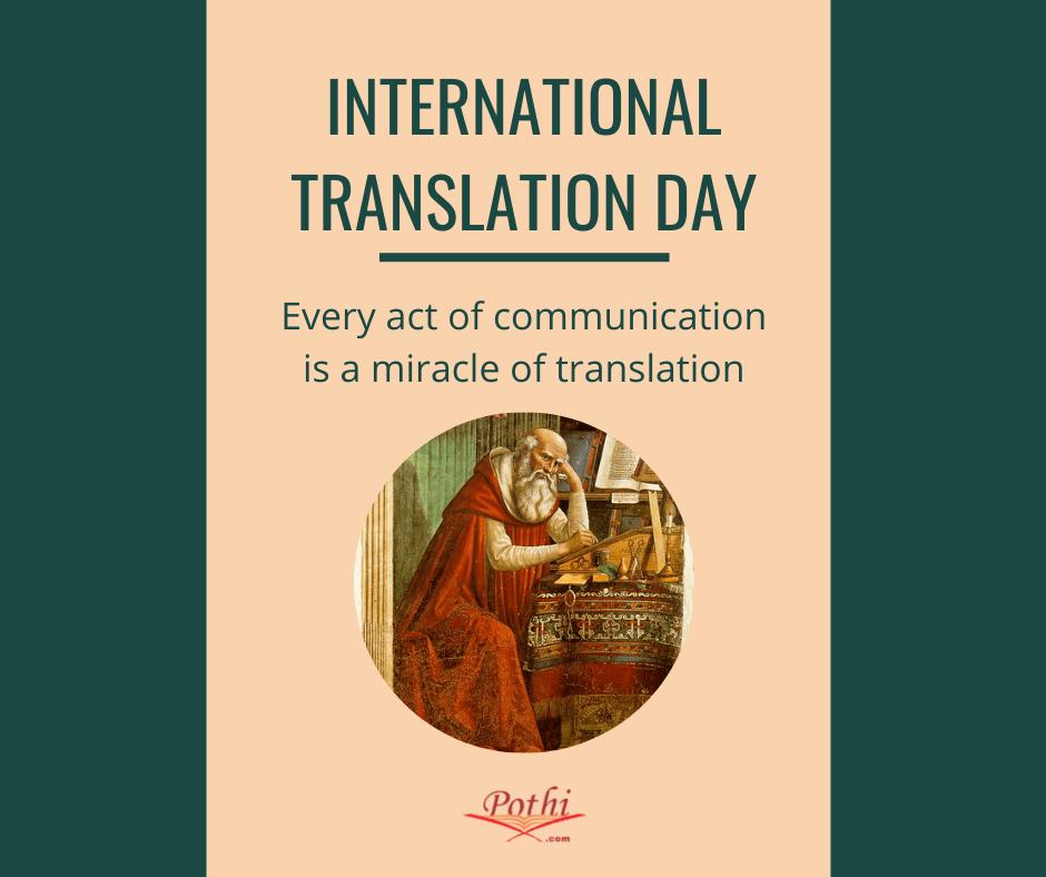 International Translation Day: 5 Translated Books at the Pothi.com Store