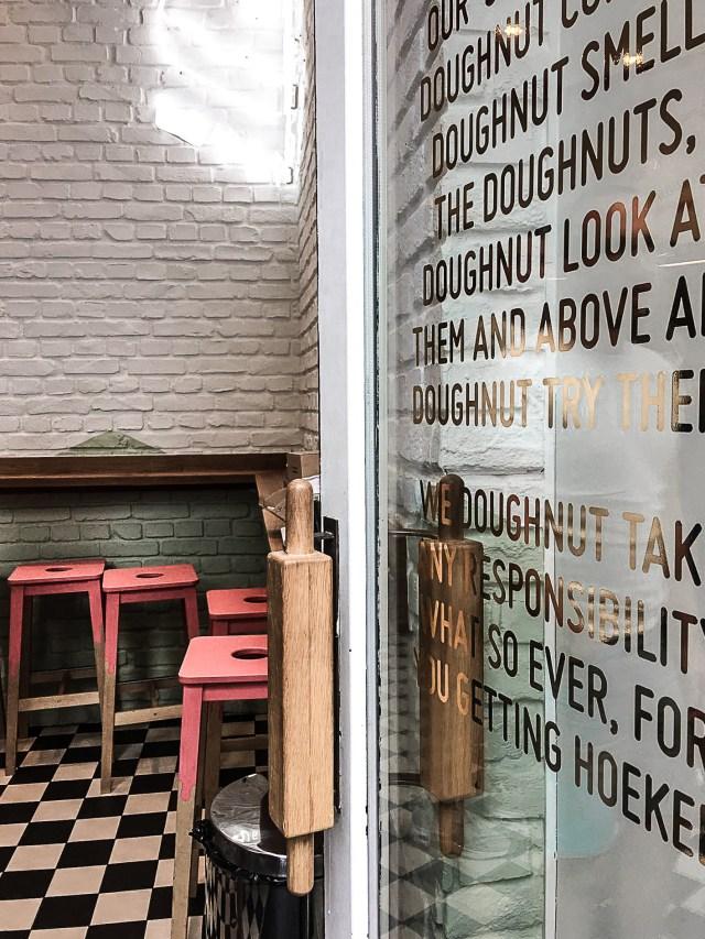 Hoeked Doughnuts Antwerpen