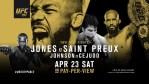 UFC 197: Johnson ja Jones voitokkaina
