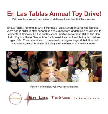 En Las Tablas Toy Drive 2013