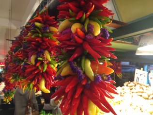 Pepper rainbow at Pike Market