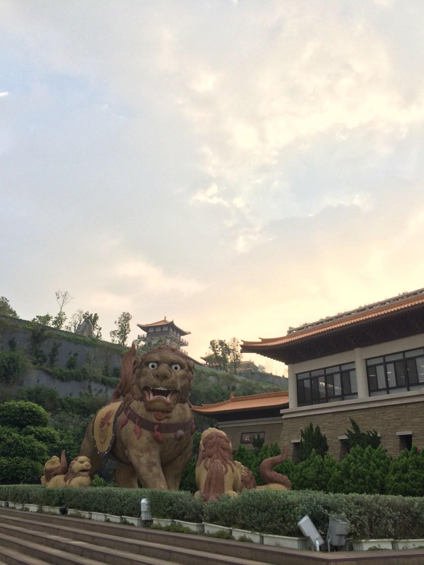Attitudinous at Fo Guang Shan
