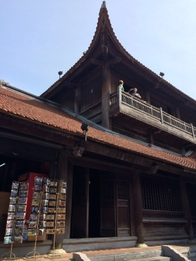 Hanoi is no stranger to tourists, so postcards and sold everywhere, including the Temple of Literature.