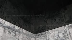 Натяжные потолки черного цвета в кривом роге