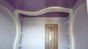 Натяжной потолок в прихожую кривой рог