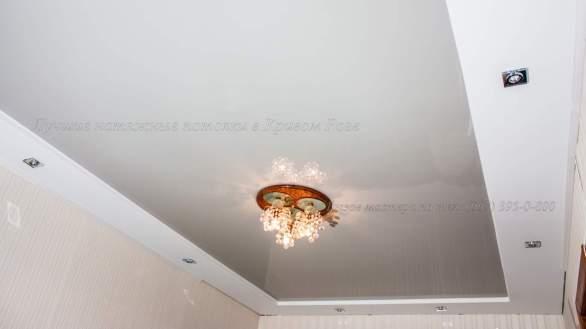 Пленочный натяжной потолок в гипсокартоне