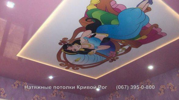 Натяжной потолок фото цена