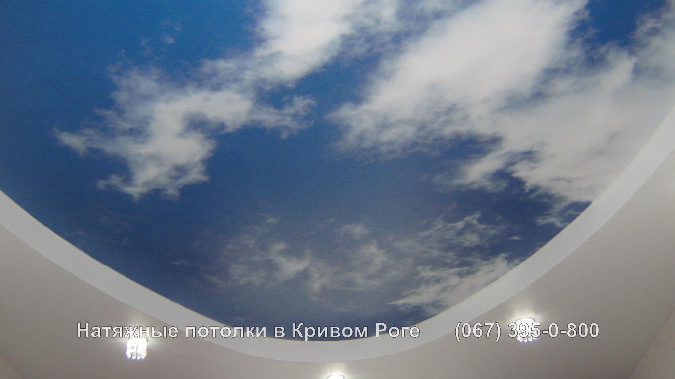 Натяжные потолки Кривой Рог Фотопечать