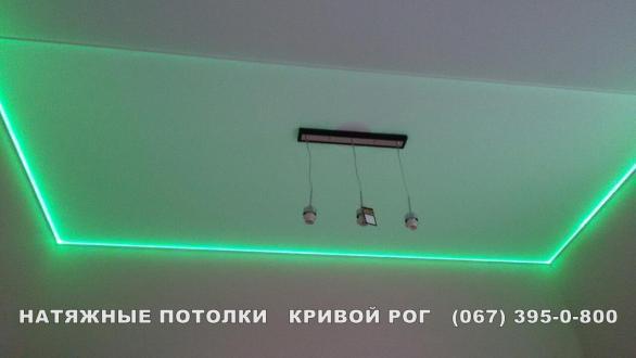 Натяжной потолок с установкой в Кривом Роге