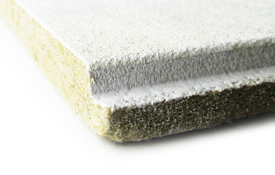 Плита для потолка из минерального волокна