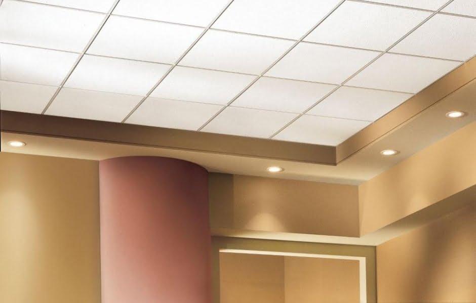 Потолки из минерального волокна