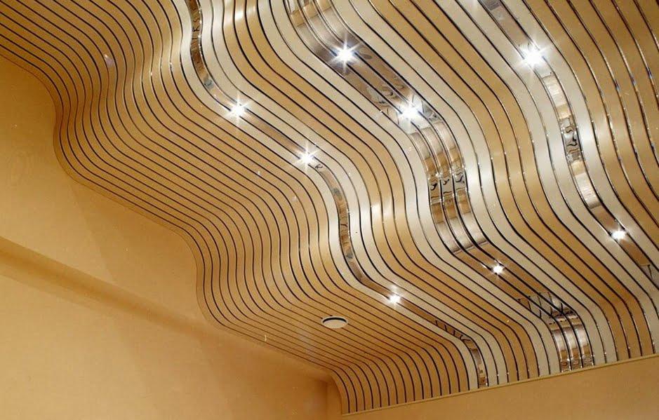 реечный потолок радиусный