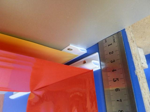 Минимальный отступ при монтаже натяжного потолка