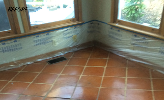 mexican tile cleaning and restoration