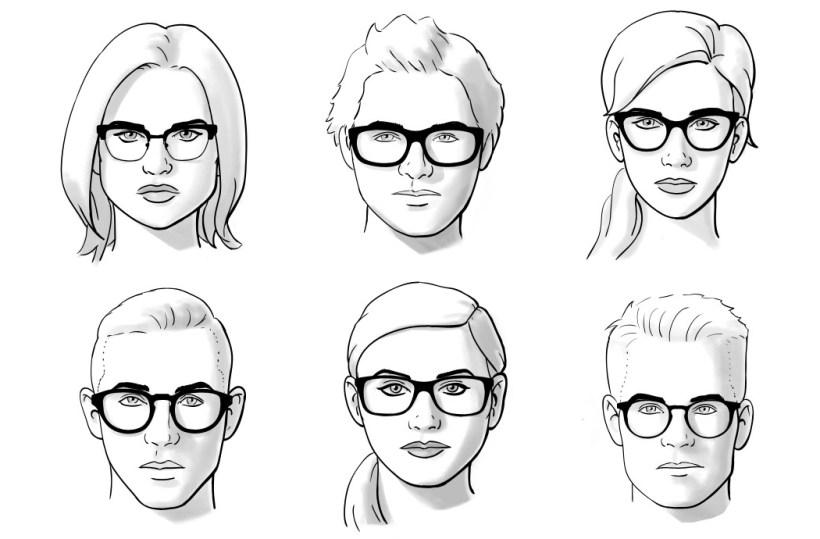 Как подобрать модные очки по типу лица d3d2876672e6d
