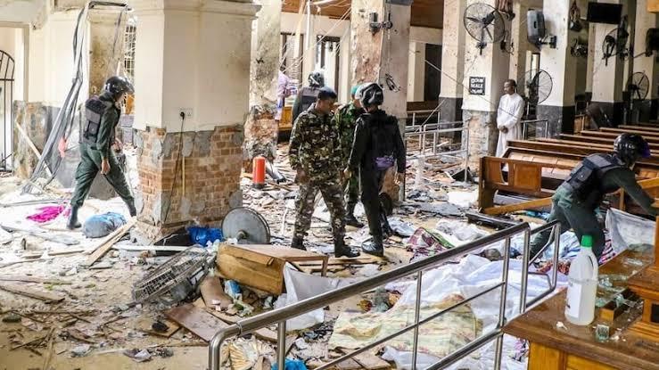 Korban Tewas Serangan Bom Sri Lanka 207 Orang