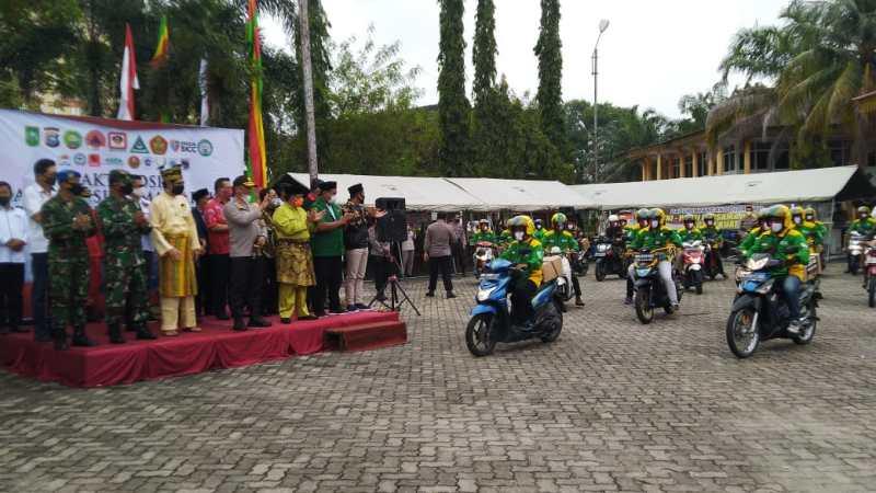 Titik Hotspot Karhutla di Riau Nol, Pemprov Apresiasi Kinerja Polda Riau