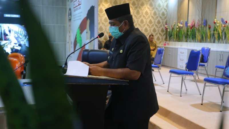 Bupati Siak Sampaikan Ranperda Pertanggungjawaban APBD TA 2019