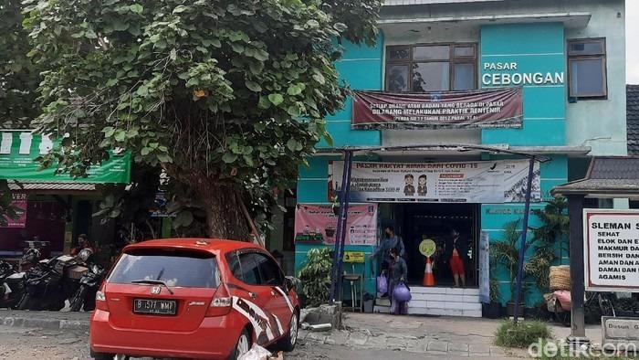 19 Orang Terjangkit Corona, Pasar Cebongan Sleman Klaster Baru