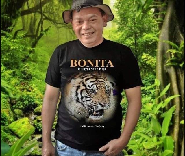 Gubri Akan Hadiri Launching dan Bedah Buku Bonita Hikayat Sang Raja