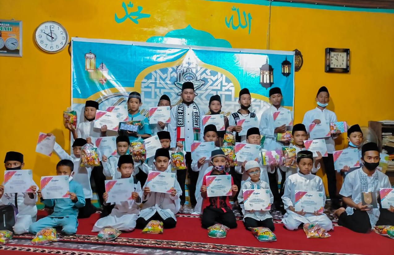 Remaja Mesjid Al Istiqomah Desa Sedarat Baru Gelar Dauroh Ramadhan