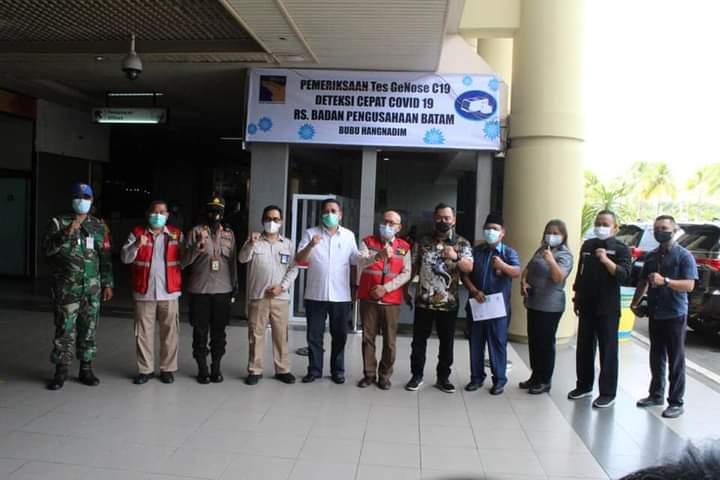 Komisi III DPRD Kepri Sambangi Bandara Hang Nadim