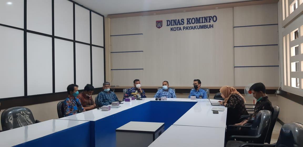 Pemkab Dharmasraya Belajar Aplikasi E-Kinerja ke Diskominfo Payakumbuh